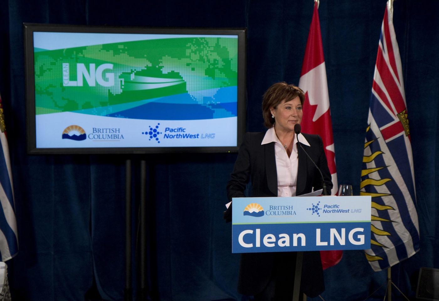 B.C. Premier Christy Clark (Image courtesy Government of British Columbia)