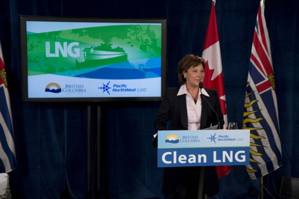 B.C. Premier Christy Clark (Image courtesy Government of British Columbia)